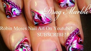 No Water Needed - DIY Marble nail art Tutorial