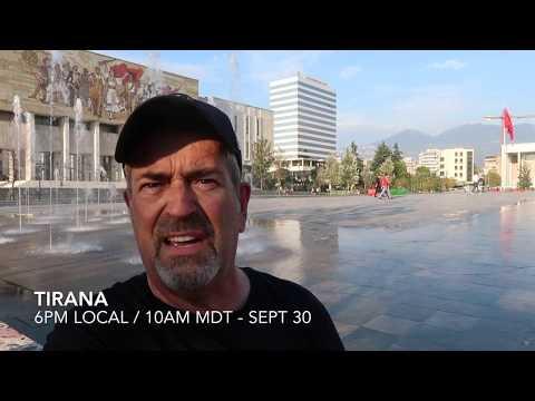 DAY 39 - TRENDY TIRANA, ALBANIA!!