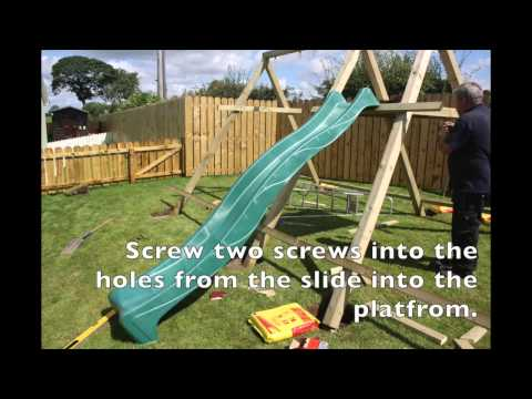 How To Construct Our Children's Wooden Outdoor Mini Play Centre