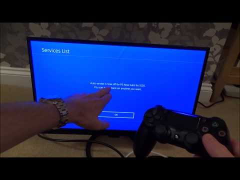 How to cancel PlayStation Now on the PS4 console