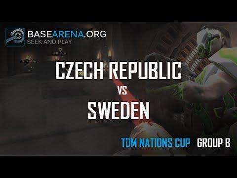 Base Arena - Quake Live TDM Nations Cup - Group B: Czech Republic vs Sweden