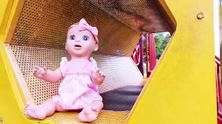 КУКЛЫ ПРОПАЛИ БЕБИ БОН НА ПЛОЩАДКЕ Эльвира КАК МАМА Игры с пупсиком  КУКЛА Игры с детьми