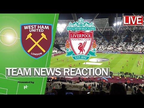 🔴 LIVE | West Ham Vs Liverpool | Premier League