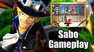 One Piece: Pirate Warriors 4 (2020) - Sabo Gameplay [PS4 Pro]