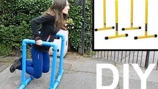 Cómo hacer dip station en casa - Paralelas