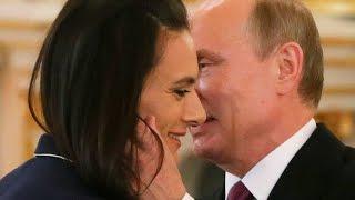 Yelena Isinbayeva llora ante Vladimir Putin 😢