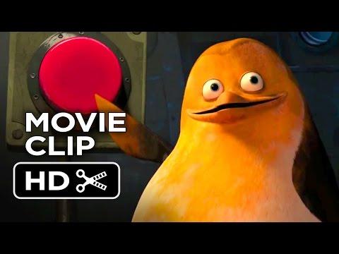 Penguins of Madagascar Movie CLIP - Giant Laser (2014) - Benedict Cumberbatch Movie HD