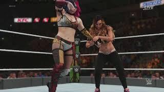 WWE Money in the Bank 2018 - Carmella vs Asuka | WWE Smackdown Women's Title (WWE 2K)