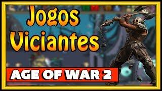 UM DOS JOGOS MAIS VICIANTES DA INTERNET AGE OF WAR 2