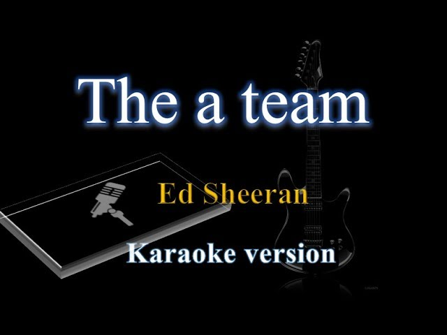 a team karaoke video, a team karaoke clip