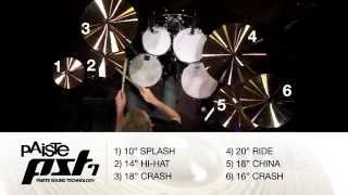 PAISTE PST7 SERIES - DEMO VIDEO!
