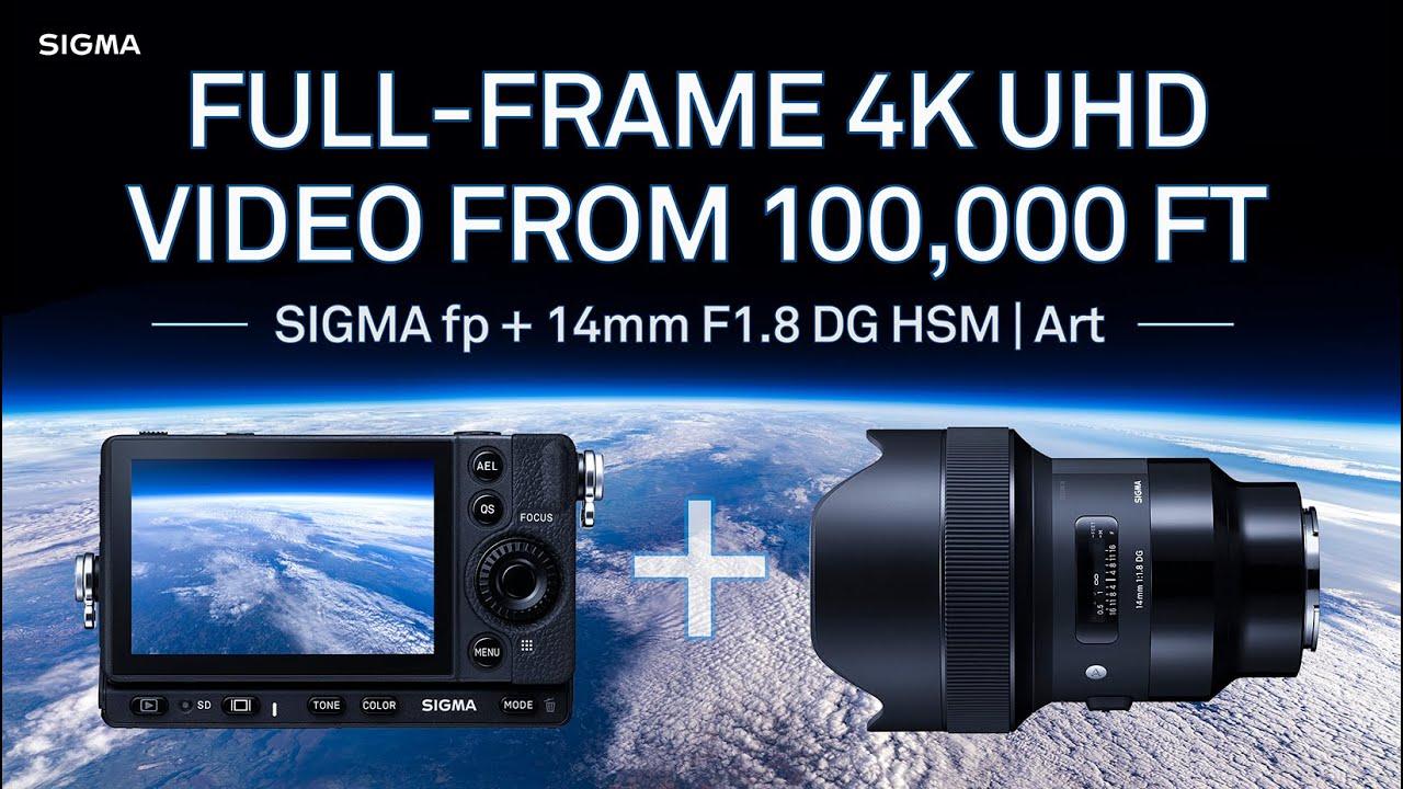 """Sigma ha inviato due fotocamere nello """"spazio"""""""