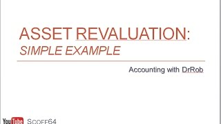 Asset Revaluation - Basics