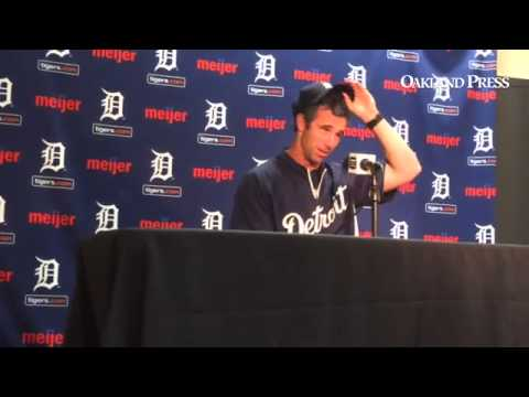 VIDEO: #Tigers manager Brad Ausmus makes off-color comment on spousal abuse, immediately regrets it