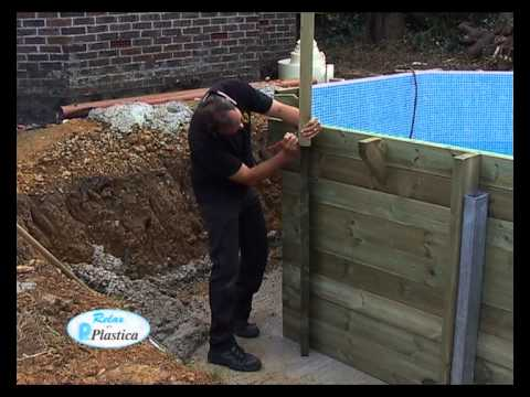 How to Install a Wooden Pool - in full | Plastica Pools
