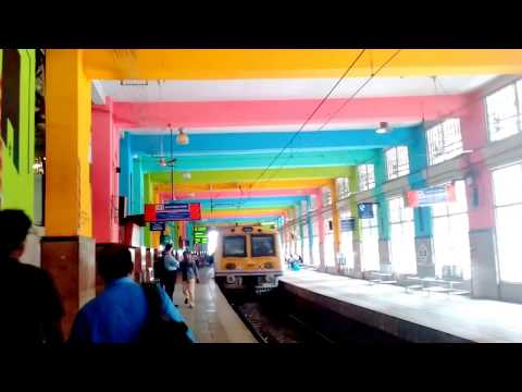 Colourful Churchgate Railway Station, Mumbai, Maharashtra