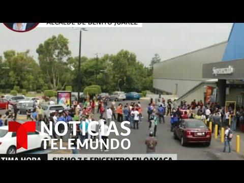 EN VIVO: Sismo de magnitud 7.5 sacude a México   Noticias Telemundo