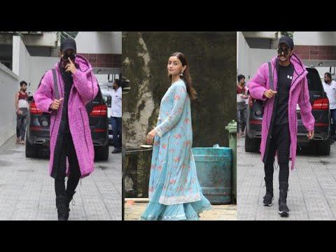 Ranveer Singh & Alia Bhatt begins prep for Karan Johar's Takht Mp3