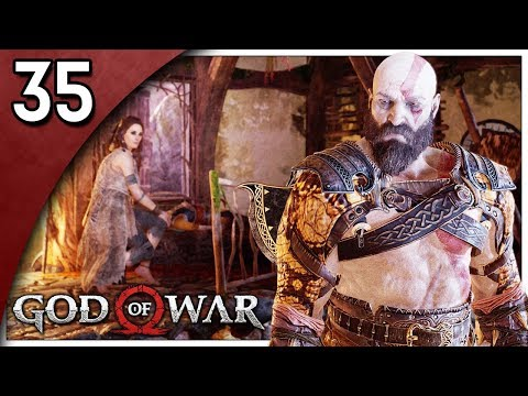 Let's Play God of War Part 35 - The Sickness [God of War 4 2018 PS4 Gameplay]