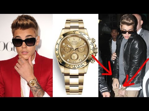 Justin Bieber's Watch Collection!  COLLECTION