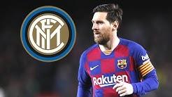 Irres Gerücht: Messi wechselt zu Inter Mailand ?!