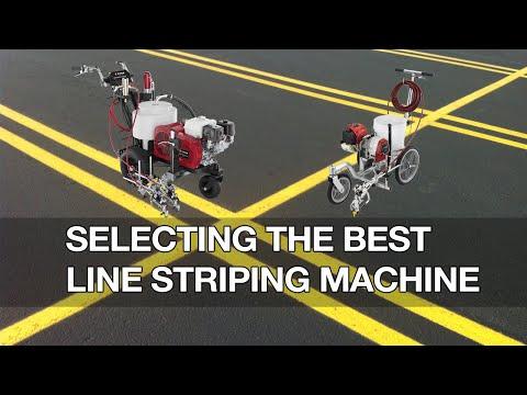 Selecting The Best Line Striping Machine | Tools & Equipment | Asphalt Kingdom