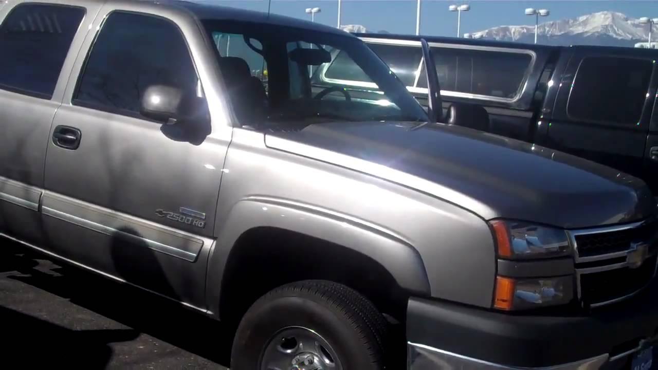 2006 Chevy Silverado 2500 Al Serra North Colorado Springs