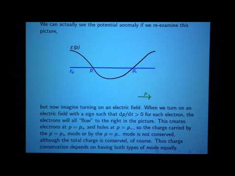 """Prof. Edward Witten, """"Fermions and Topological Phases I"""", Part 1 of 5"""