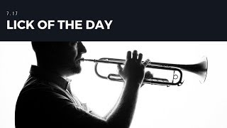 Jazz Trumpet | Lick of the Day 7.17