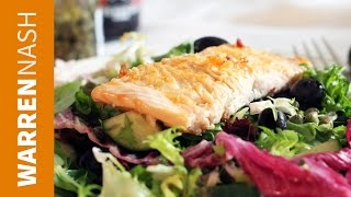 Salmon Salad Recipe - In 60 Seconds - Recipes From Fitbrits.com