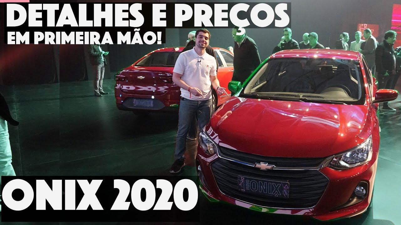 NOVO CHEVROLET ONIX E ONIX PLUS 2020 - Detalhes da NOVA GERAÇÃO em PRIMEIRA MÃO! | Top Speed
