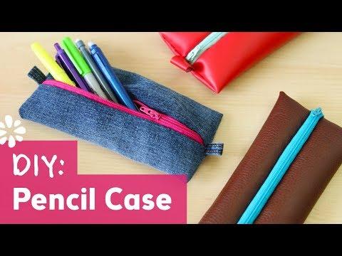 Back to School DIY Pencil Case with Zipper | Sea Lemon