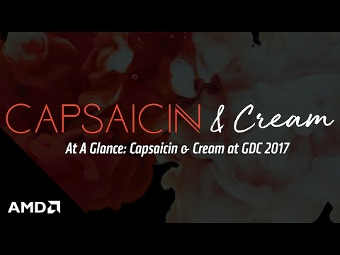 At A Glance: Capsaicin & Cream at GDC 2017