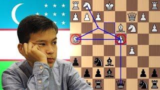 2nd Youngest Chess Grandmaster in History | Nodirbek Abdusattorov