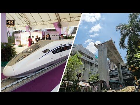 Thailand  3 Airports High Speed Railway 3  Don Mueang  Suvarnabhumi  UTapao