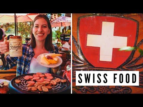 Delicious Swiss Food + First Time Eating Raclette | La Cumbrecita, Cordoba, Argentina