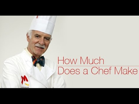 How much does a chef make
