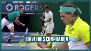Serve Fail Compilation | A Feel Good Video for Club Players Series