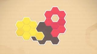 Paper Blocks Hexa // Gameplay