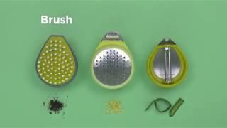 PalmZester Vegetable Peeler video
