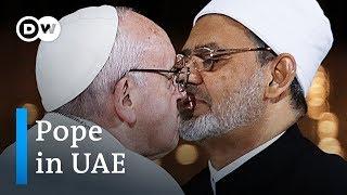 Pope Francis holds Arabian Peninsula's largest mass   DW News