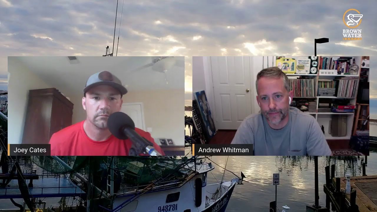 Brown Water Banter Ep 63| Andrew Whitman with Blackdot Charters #brownwaterb