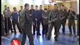 уроки рукопашного боя.холодное оружие1