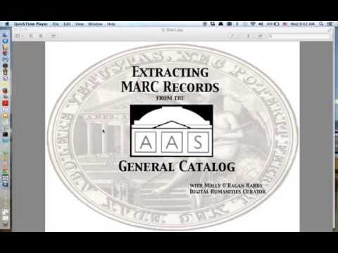 How to Convert MARC Records to a Spreadsheet