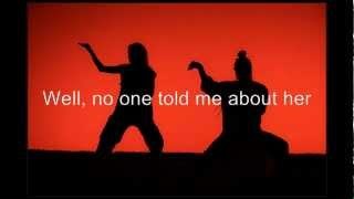 About Her - Malcolm Mclaren With lyrics (Kill Bill vol 2)