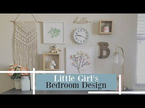 GIRLS ROOM MAKEOVER / DESIGN IDEAS AND TOUR / ON A BUDGET