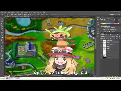 Pokemon X and Y : Original Desktop Background Speed Art