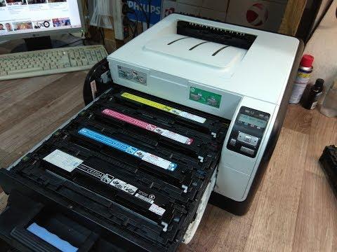 Как работает цветной лазерный принтер