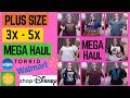 PLUS SIZE Mega Haul - Torrid, shopDisney and more, Sizes 3x - 5x