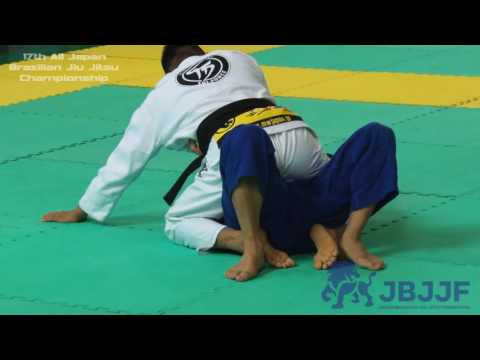 Masaaki Todokoro vs Koji Shibamoto - 17th All Japan Brazilian Jiu Jitsu Championship